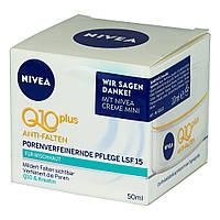 NIVEA Q10 plus Anti-Falten Porenverfeinernde Pflege LSF 15 - Дневной крем против морщин SPF 15