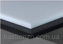 Лист, плита поліетилен PE 500 товщина 60 мм, розмір 1000х3000