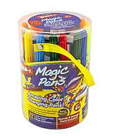 Волшебные фломастеры Magic Pens Мэджик Пенс меняющие свой цвет