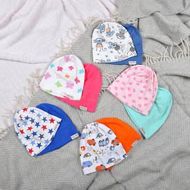 Детские трикотажные шапочки