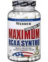 БЦАА Weider Maximum BCAA Syntho (240 caps)