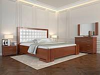 Кровать с механизмом Arbordrev Амбер квадраты (160*200) сосна