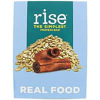Rise Bar, Простейший протеиновый батончик, подсолнечник и корица, 12 батончиков, 2,1 унц. (60 г) каждый
