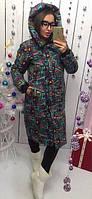 Женское пальто на синтепоне очень теплое  ам246-1, фото 1