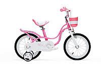 Детский велосипед Royal Baby LITTLE SWAN 16 розовый