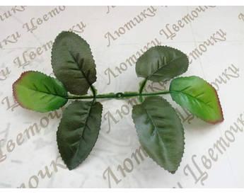 Лист троянди 23 см