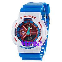 Часы наручные Casio G-Shock GA-110 White-Blue-Red