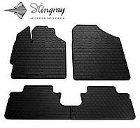 Stingray Модельные автоковрики в салон Тойота Ярис 2006- Комплект из 4-х ковриков (Черный)