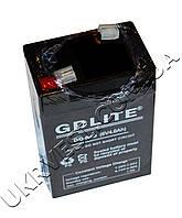 Аккумулятор 6v 4Ah GDLITE