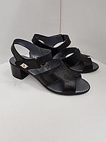 Босоножки кожаные на удобном каблуке 36-41 р