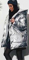 Куртка женская из эко-кожи  вш980