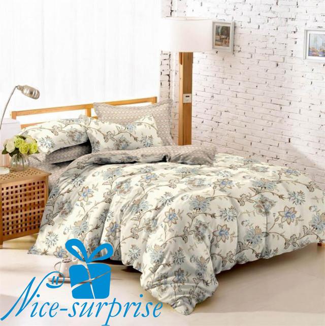 купить двойной комплект постельного белья из поплина в Украине