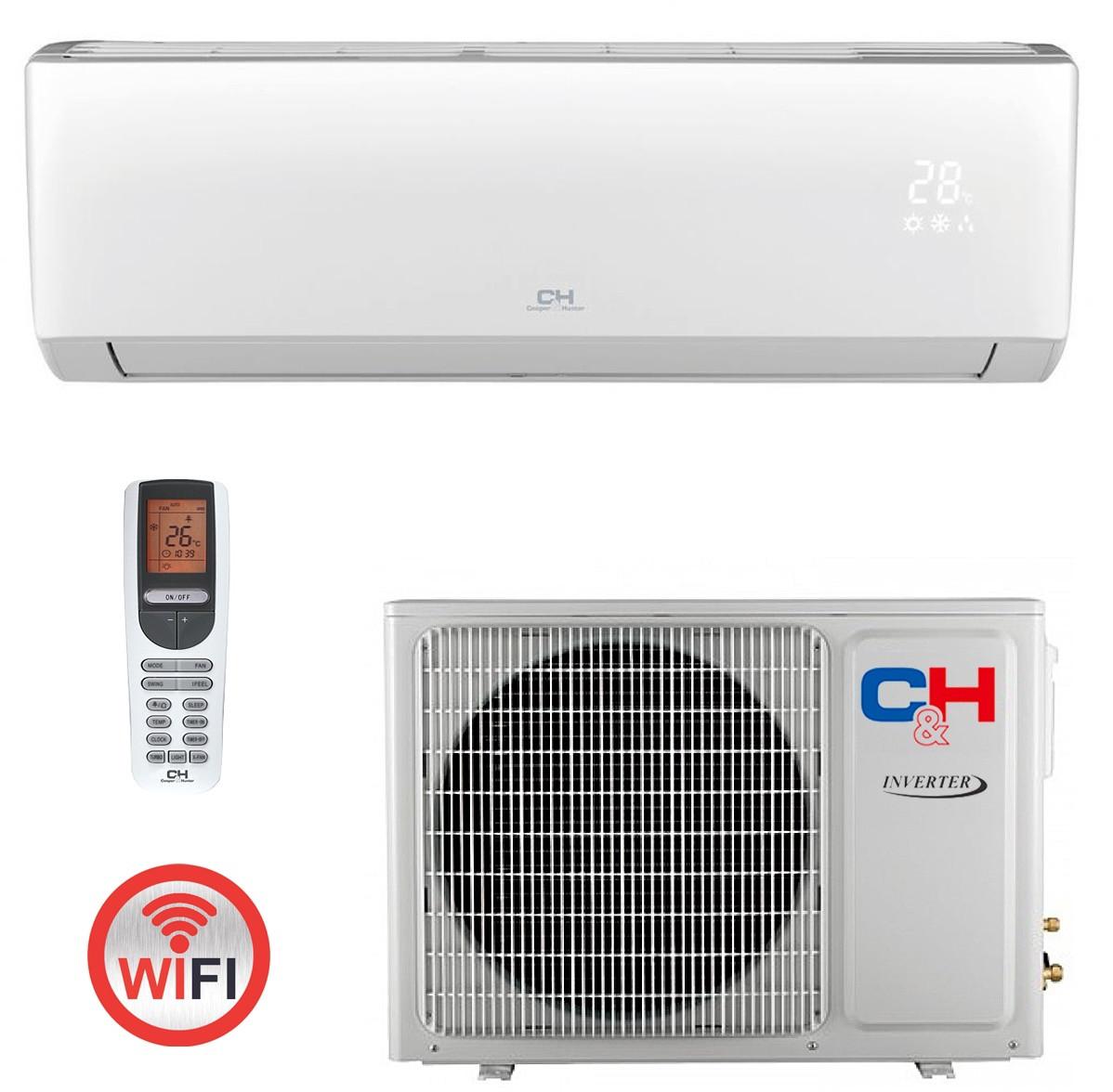 Кондиционер инверторный сплит-система Cooper&Hunter Arctic Inverter CH-S18FTXLA-NG R32 Wi-Fi