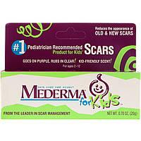 Mederma, Skin Care For Scars, For Kids, гель против шрамов, ожогов, операций, Для детей(20 g)