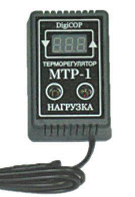 МТР-1 10А цифровий Терморегулятор, фото 2