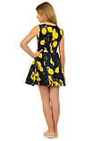 Прекрасное летнее платье с оригинальным принтом для девочек 134-164р, фото 3