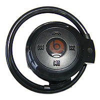 Спортивные беспроводные Bluetooth наушники с MP3-плеером Mini-503 TF Синий