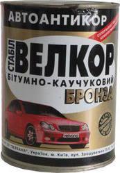 "Антикорозійна бітумно-каучукова мастика ""Велкор-стабіл"" БРОНЗА 4кг"
