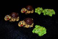 Декоративные наклейки Черепашка и Лягушка, фото 1