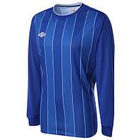 100% Оригинал Спортивный футбольный реглан синий на рост 158см Umbro Continental джерси