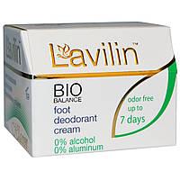Lavilin, Био Баланс, Крем-дезодорант для ног для мужчин и женщин, 12,5 г