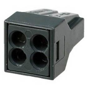 Строительные клеммы WAGO 773-304 Cu/Al для быстрого монтажа