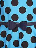Прелестное летнее хлопковое платье для девочек 128-140р, фото 4