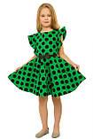 Изумительное летнее хлопковое платье для девочек 128-140р, фото 2