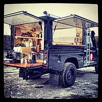 Установка кофейного оборудования в кофемобили и кофейни.