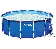 Intex 28242/28236 (457х122 см.) + Насос-фильтр, лестница, тент, подстилка.