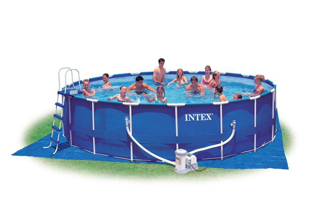 Intex 28252/26732  (549х122 см.) +,Metal Frame Pool