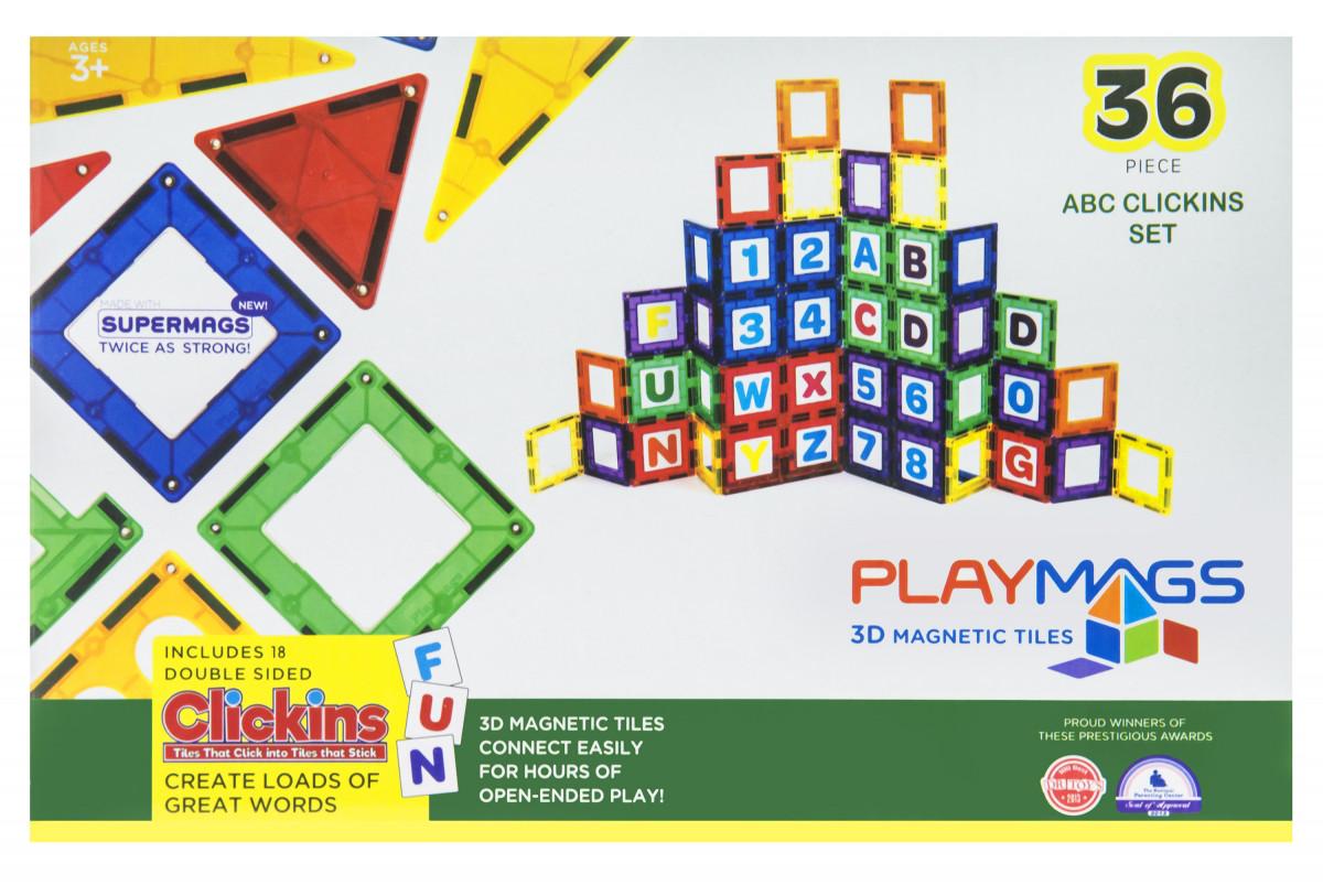 Playmags Магнитный набор 36 эл. PM168