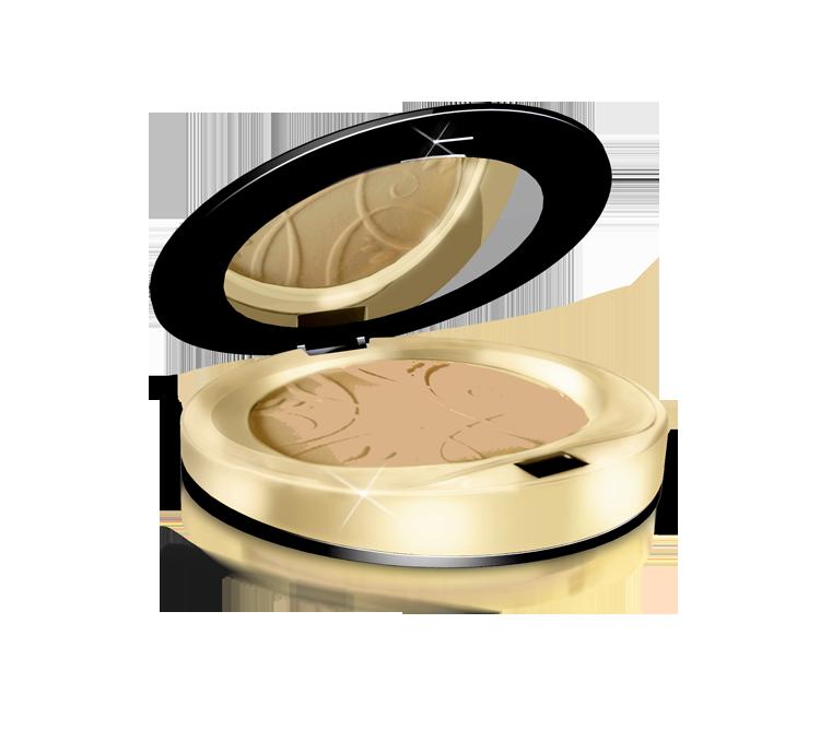 Матирующая минеральная компактная пудра Eveline Cosmetics Celebrities Beauty Powder тон 23 Песочный