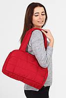 Бордовая сумка Puff