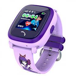 Детские часы Smart GPS DF200 Water Purple