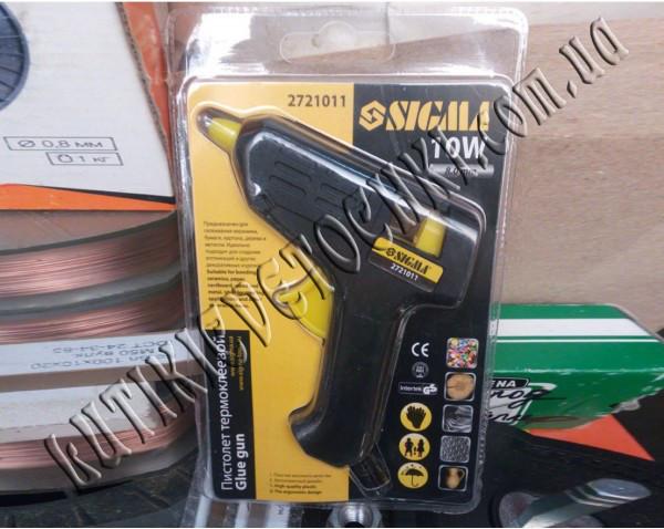 Клеевой пистолет Sigma 8мм 10Вт
