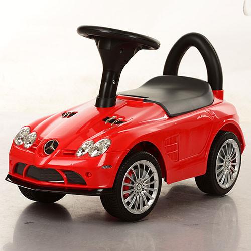 Каталка-толокар M 3189-3 Mercedes на EVA колесах красный