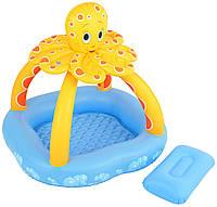 Bestway 52145 (102x102x102 см.) Детский надувной бассейн Осьминог