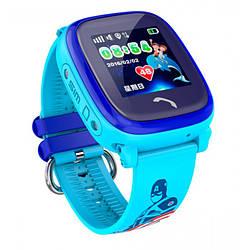 Детские часы Smart GPS DF200 Water Blue