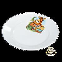 """Детская тарелка мелкая """"Азбука"""", 175 мм, Д01-175"""