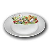 "Детская тарелка мелкая ""Поляна"", 200 мм, Д01-200, фото 2"