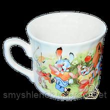 """""""Лесная поляна"""", чашка с рисунком, деколь, 220 мл, Д01-220"""