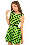 Симпатичное Легкое летнее платье без рукавов 128-140р, фото 2