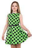 Симпатичное Легкое летнее платье без рукавов 128-140р, фото 4