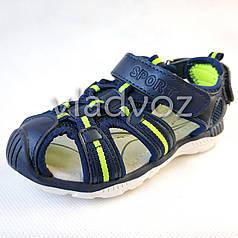 Босоножки сандалии для мальчика на мальчиков мальчику Tom.M синие Спорт 28р.
