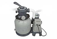 Intex 28646 (16 кг. - 8000 л/ч.) Песочный фильтр-насос
