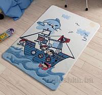 Коврик в детскую комнату Confetti Smiley Dolphin Blue