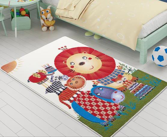 Купить Коврик в детскую комнату Confetti Lion King Orange