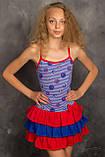 Легкий сарафанчик-маєчка для юної леді 122-146р, фото 2