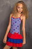 Легкий сарафанчик-маєчка для юної леді 122-146р, фото 3